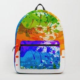 Colorful Splashes Backpack