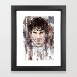 Mr Graham Framed Art Print