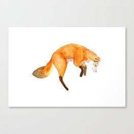 jump of happiness Canvas Print