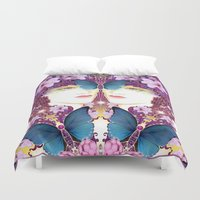 nouveau Duvet Covers featuring Nouveau by Kundalini Arts