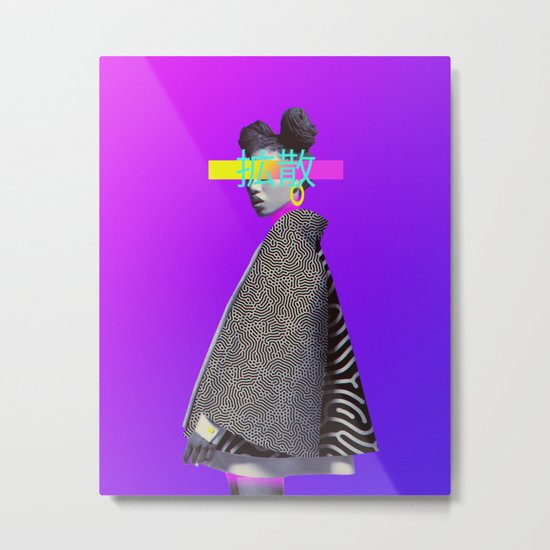 Diffusion Metal Print