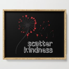 Scatter Kindness Serving Tray
