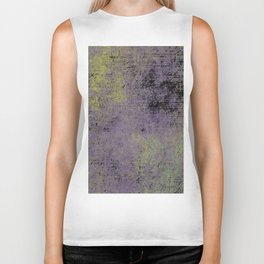Darkened Sky - Textured, abstract painting Biker Tank