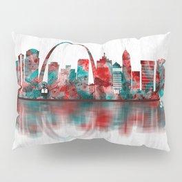 St. Louis Missouri Skyline Pillow Sham