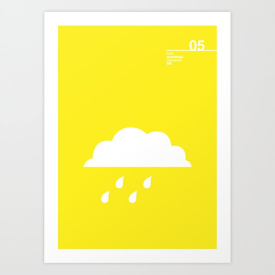 05_Webdings_DB Art Print