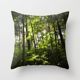 Forest // Breathe In Throw Pillow