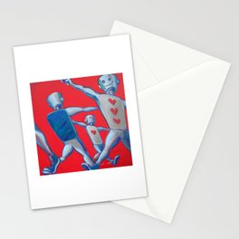 Our hearts march on Stationery Cards