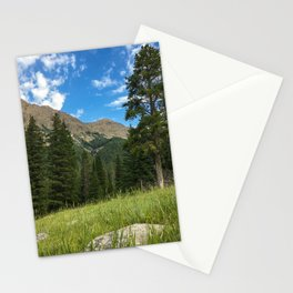 Yellowstone National Park Mountain Meadow Hike Nature Stationery Cards