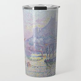 View of the Port of Marseilles Travel Mug