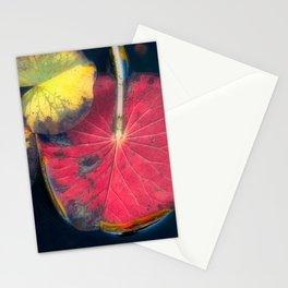 Aqua Lilia ii Stationery Cards