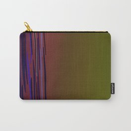 design ethno wood lines Carry-All Pouch