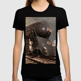 Streamliner Train Locomotive T-shirt