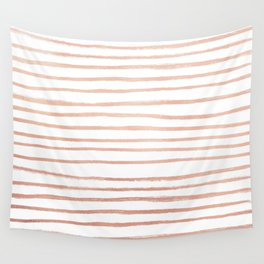 Rosey Gold Wall Tapestry