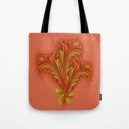 Color Meditation - Orange  Tote Bag