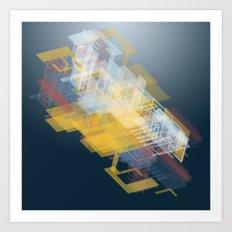 Hypership Fortuna Art Print