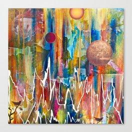Utopian Dreamscape Canvas Print