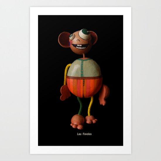 Lau Favolas Art Print