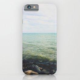 Lake horizon iPhone Case