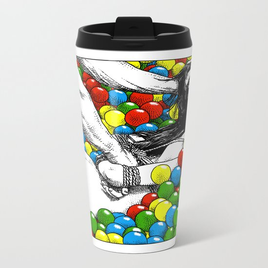 asc 470 - Games allowed in the store after closing time Metal Travel Mug