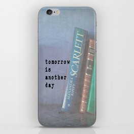 Tomorrow is Another Day iPhone Skin