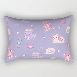 Nurse Ducks - Menhera Design Rectangular Pillow