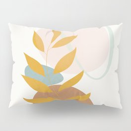 Soft Abstract Shapes 10 Pillow Sham