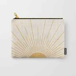 Sun #5 Yellow Carry-All Pouch