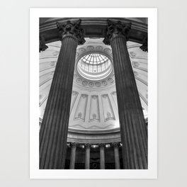 Federal Hall Rotunda Art Print