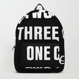 Three Casino Poor... Funny Gambling Gift Backpack