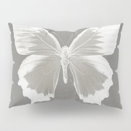 Butterfly on grunge surface Pillow Sham