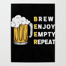 Beer Meaning Beer Meaning Poster