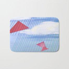 Kites in a Rainy Sky Bath Mat