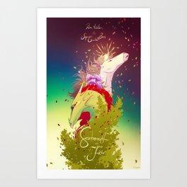 Dan Avidan & Super Guitar Bros - Scarborough Fair Art Print