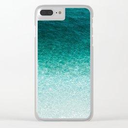 Destin Gradient Clear iPhone Case