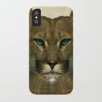 tom selleck iPhone & iPod Cases featuring Tom by Vin Zzep