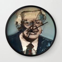 President Jimmy Carter Wall Clock
