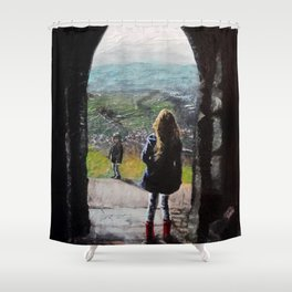 Gazing from the Tor Shower Curtain
