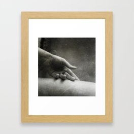 Caresse Framed Art Print