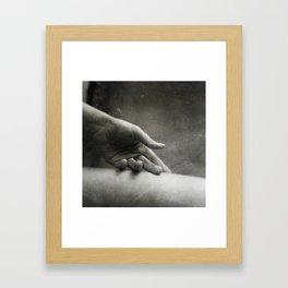 Caresse Framed Art Print
