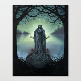 The Promise of Death Canvas Print