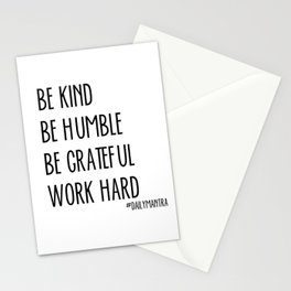 Be Kind Stationery Cards