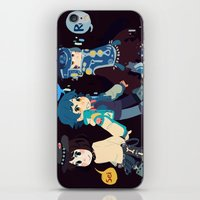 dmmd iPhone & iPod Skins featuring DMMD-seragakis by Mimiblargh