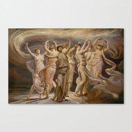 """Elihu Vedder """"The Pleiades"""" Canvas Print"""