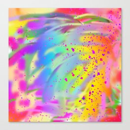 A  LITTLE BIT OF ABSTRACT Design Pattern Canvas Print