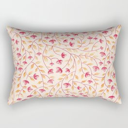 Botanical: Beige Vine Rectangular Pillow
