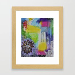 Blossoming Framed Art Print