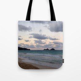 Beachside Mornings Tote Bag
