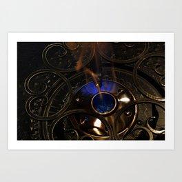 Chafing Burn Art Print
