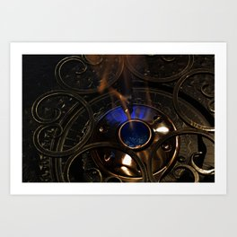 Chafing Burn Art Print