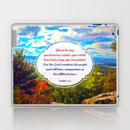 Shout for Joy! Laptop & iPad Skin